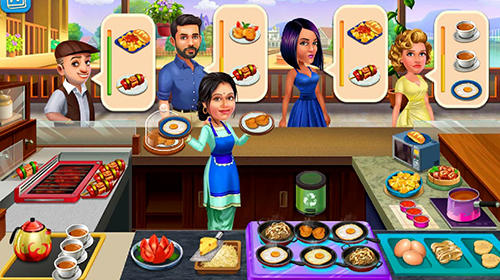 Patiala babes: Cooking cafe. Restaurant game capture d'écran 3