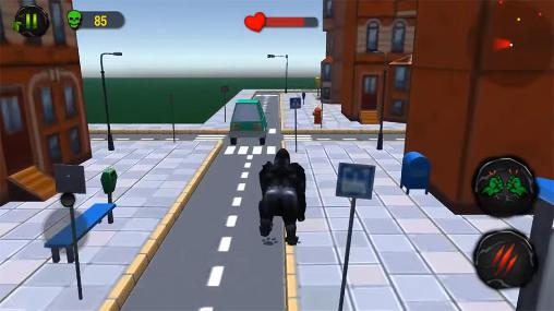 Ultimate gorilla rampage 3D for Android