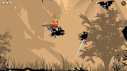 Arcade-Spiele Choppi bird für das Smartphone