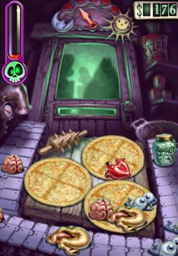 Screenshot Zombie-Pizza auf dem iPhone