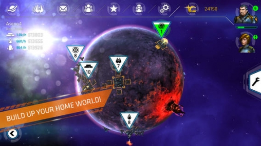 Strategiespiele: Lade Galaxie im Feuer - Allianzen auf dein Handy herunter