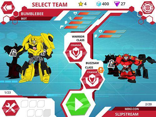 Transformers: Getarnte Roboter auf Deutsch