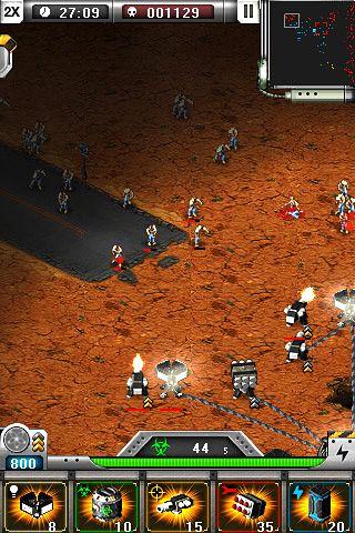 Screenshot Dioabwehr: Zombie Outbreak auf dem iPhone