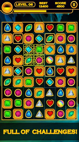 Arcade Jewel quest for smartphone