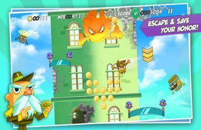 Arcade-Spiele: Lade Himmelsheld auf dein Handy herunter