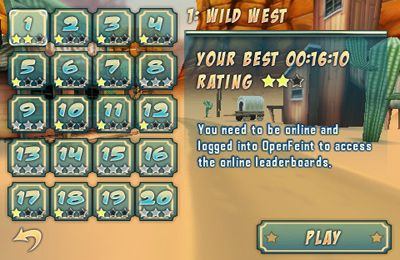 Wild West 3D Rollercoaster Rush на русском языке