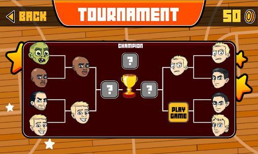 Big head basketball Screenshot