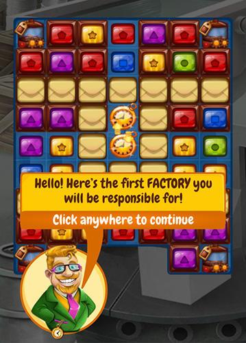 3 Gewinnt-Spiele Factory king auf Deutsch