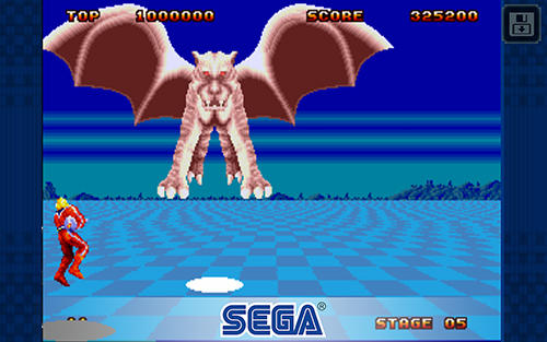 Space Harrier 2: Classic pour Android