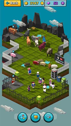 Cow pig run für Android
