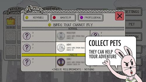 Arcade-Spiele Spy bunny für das Smartphone