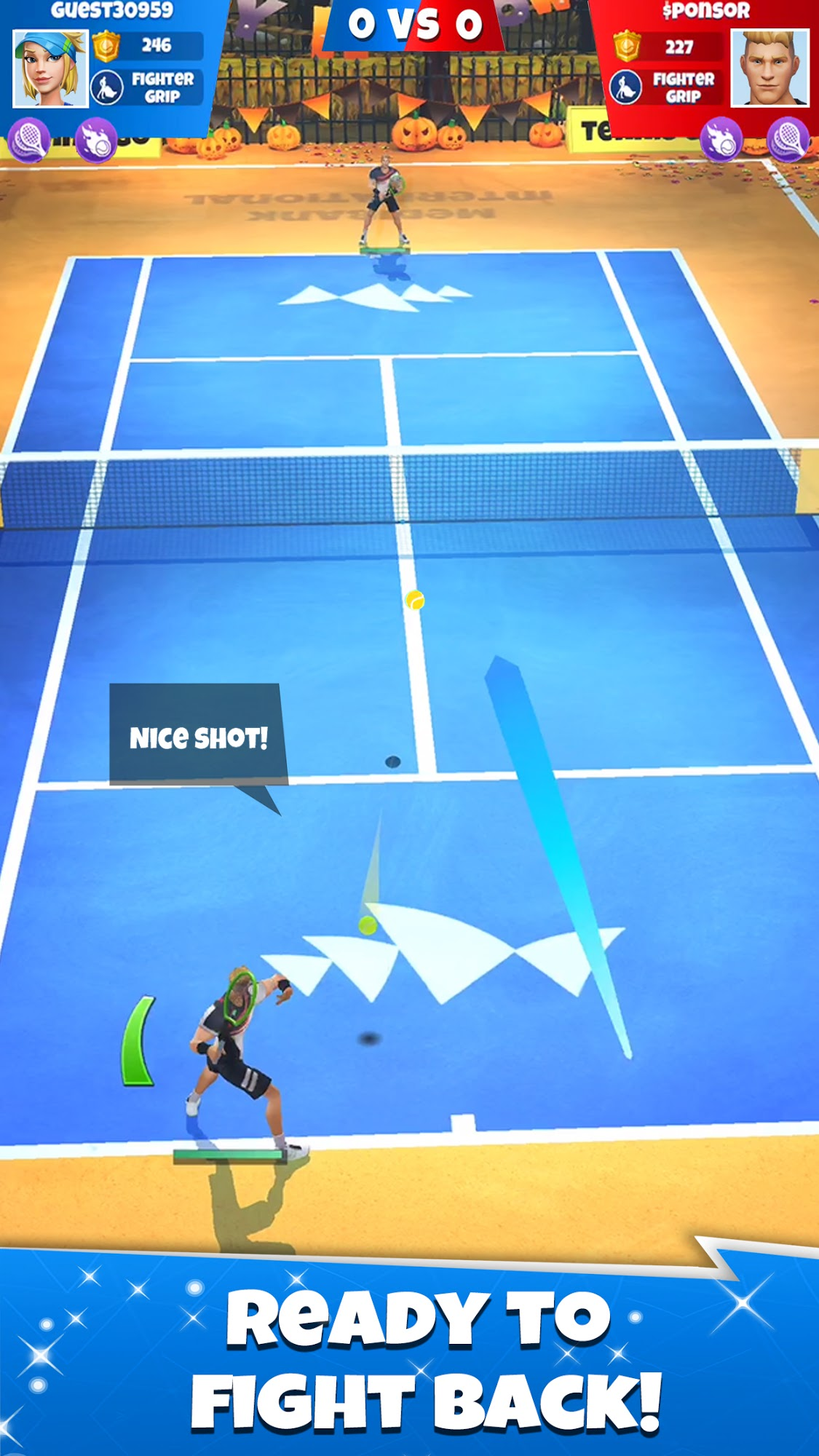Tennis GO : World Tour 3D screenshot 1