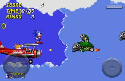 Arcade-Spiele: Lade Sonic der Igel 2 auf dein Handy herunter