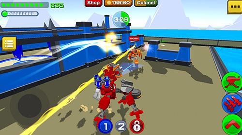 Armored squad: Mechs vs robots скриншот 1