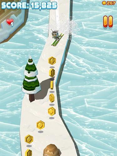 Arcade-Spiele Toodle's toboggan für das Smartphone