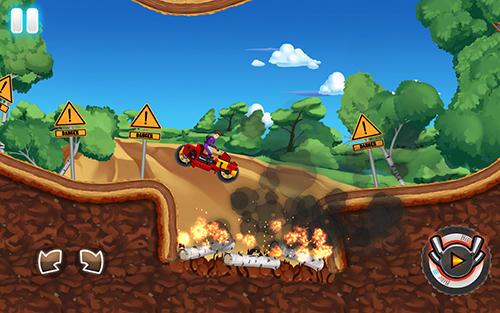 Motorcycle Racing games Monster bike motocross in English