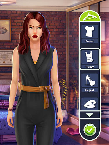 Detective love: Story games with choices für Android