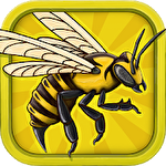 Angry bee evolution: Idle cute clicker tap game icon