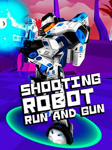 Shooting robot: Run and gun screenshot 1