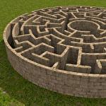 3D maze ícone