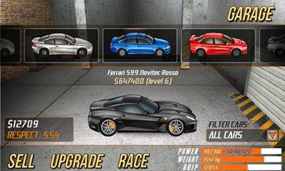 Drag Racing capture d'écran 1