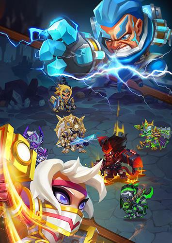 Taptap heroes captura de tela 1