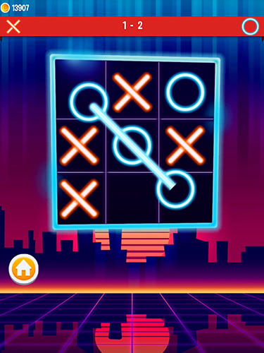 Tic tac toe by Gamma play in English