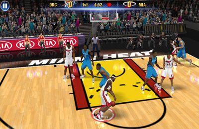 截图NBA 2K14在iPhone