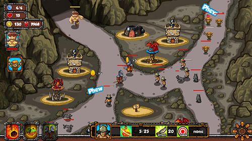 Tower clash TD для Android