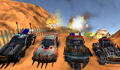 Buggy car race: Death racing screenshot 2