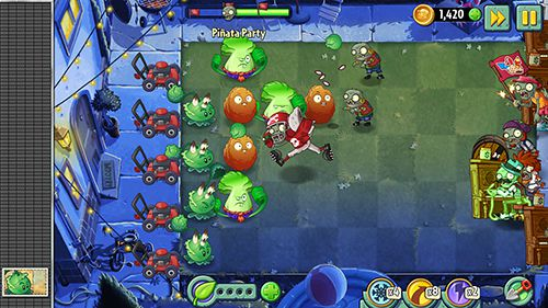 Strategie: Lade Pflanzen vs. Zombies 2. Sommernächte: Erdbeerexplosion auf dein Handy herunter