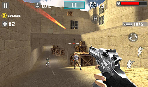 Gun shot fire war pour Android