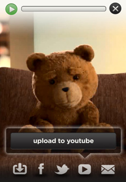 Sprechender Ted. Unzensiert für iPhone