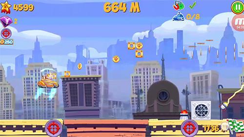 Arcade Garfield smogbuster für das Smartphone