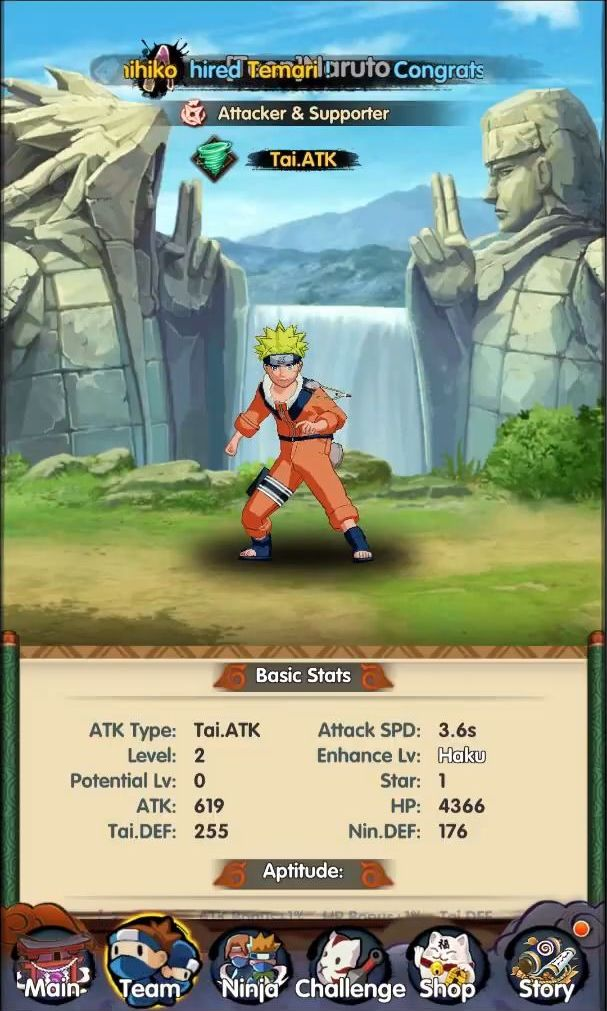 Hokage Ultimate Storm screenshot 1