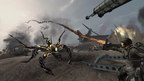 скріншот Edge of tomorrow game