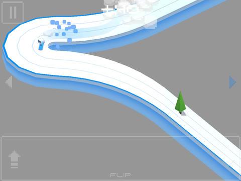 Wrüfeliges Snowboarden für iPhone