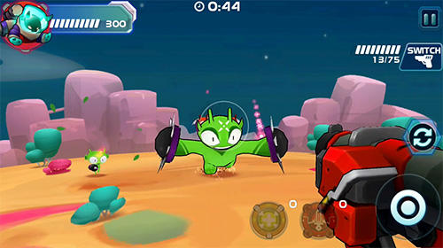 Schießstand-Spiele Galaxy gunner: Adventure auf Deutsch
