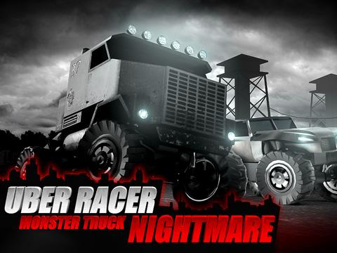 logo Uber Racer 3D Monster Truck: Alptraum