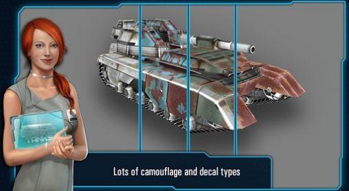 Iron tanks Screenshot
