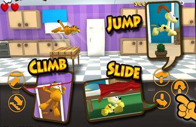 Arcade-Spiele: Lade Garfield´s Flucht auf dein Handy herunter