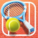 Pocket tennis league icône