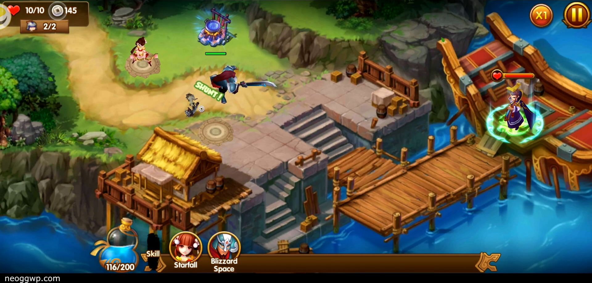 Pocket Kingdom TD pour Android