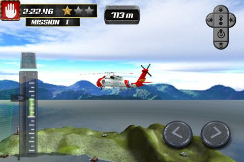 Helicopter parking simulator for iPhone for free
