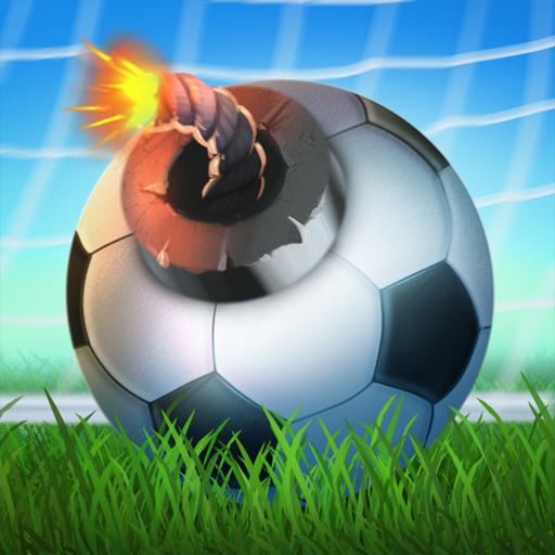 FootLOL: Crazy Soccer! Action Football game Symbol