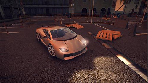 Einparken Sport car parking 2 auf Deutsch