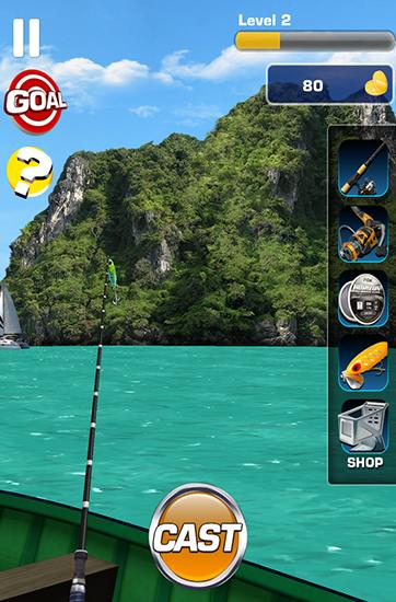 Fishing 3D für Android