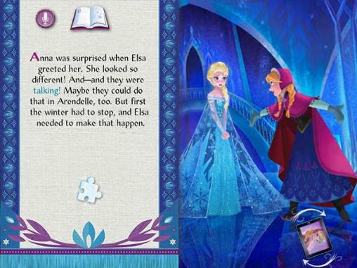 RPG Disney. Frozen: Storybook deluxe für das Smartphone