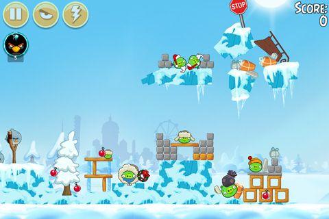 Angry Birds: On Finn Ice auf Deutsch