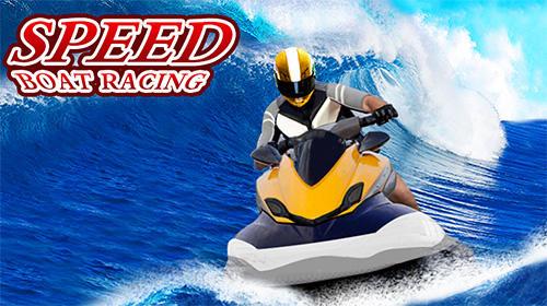Speed boat racing: Racing games screenshot 1